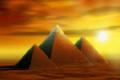 Tre piramidi vicino a Milano come in Egitto