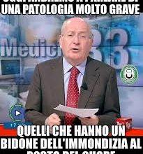 medicina 33 meme bidone immondizia