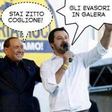 salvini berlusconi meme satira politica