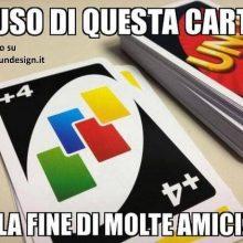 gioco di carte uno meme