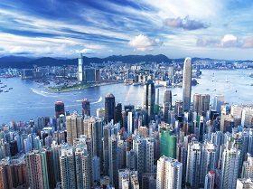 sfondi desktop hd - skyline città