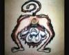 tatuaggi folli scimmia